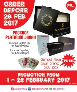 Package Platinum Jubah